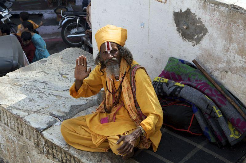 sadhu in udaipur