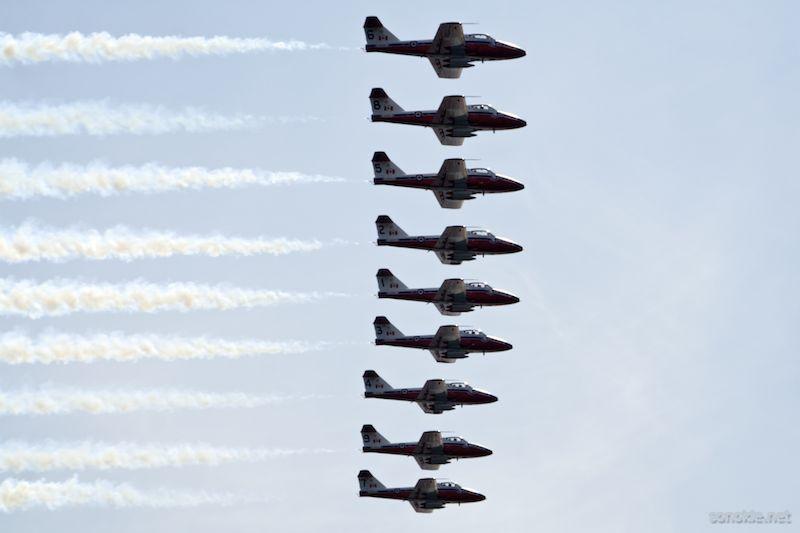 9 planes