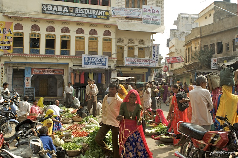 pushkar vegetable market