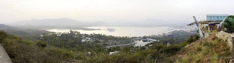 udaipur from above