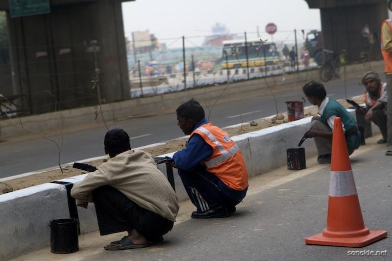 road painters