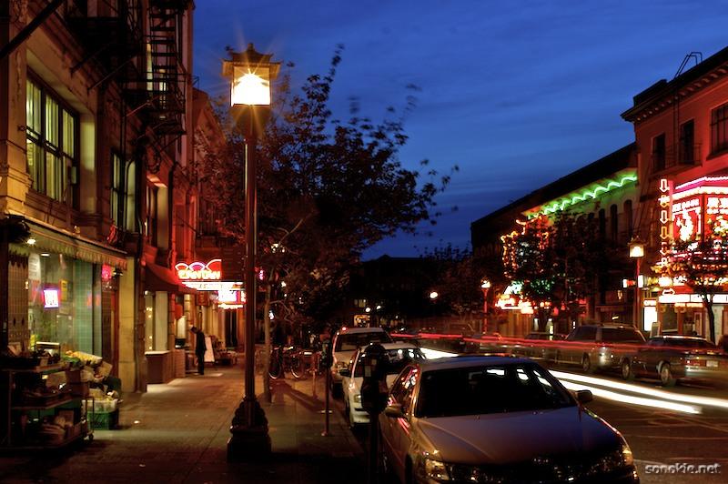 chinatown lights
