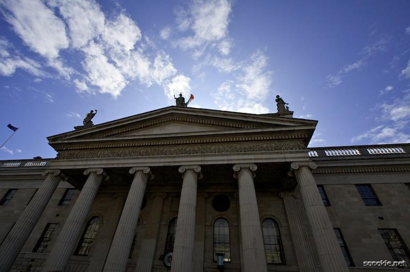 irish columns