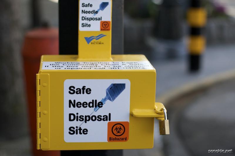 needle disposal
